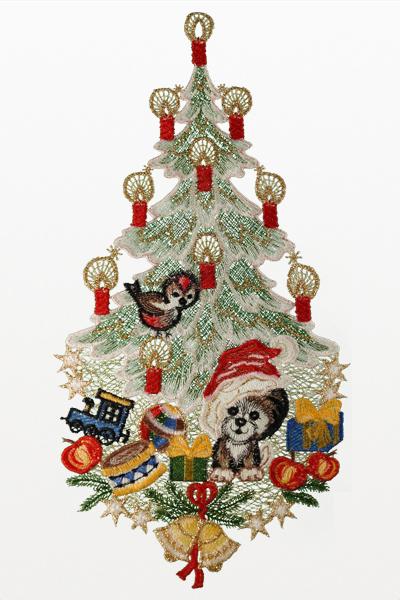 plauener spitze fensterbilder zu weihnachten und im winter. Black Bedroom Furniture Sets. Home Design Ideas